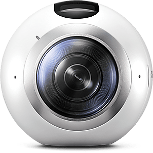 Front view of Gear 360