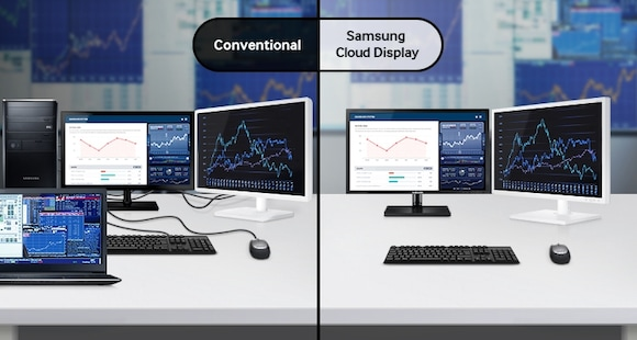 Deliver a Productive Workspace through an All-in-One Type Display