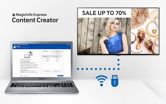 Create and update custom content directly on your PC with no hassle