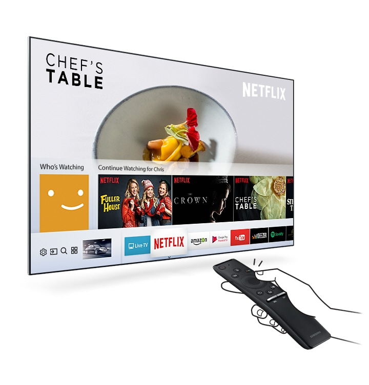 M5500 Smart Full HD TV: Smart Hub