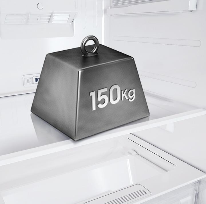 Strong,safe shelves
