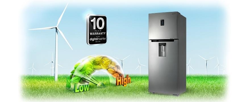 Digital Inverter Compressor and 10 Year Warranty