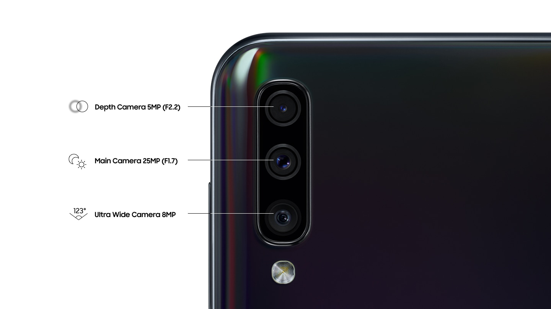 Triple caméra pour capturer vos moments en direct