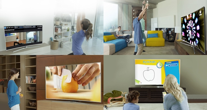 JU6000 Smart 4K UHD TV: Content that suits your lifestyle