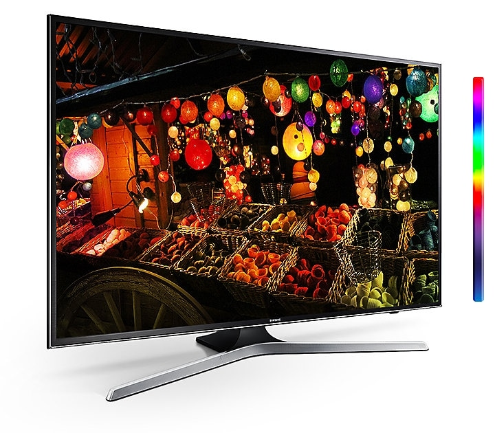 MU6300 Curved Smart 4K UHD TV: PurColor