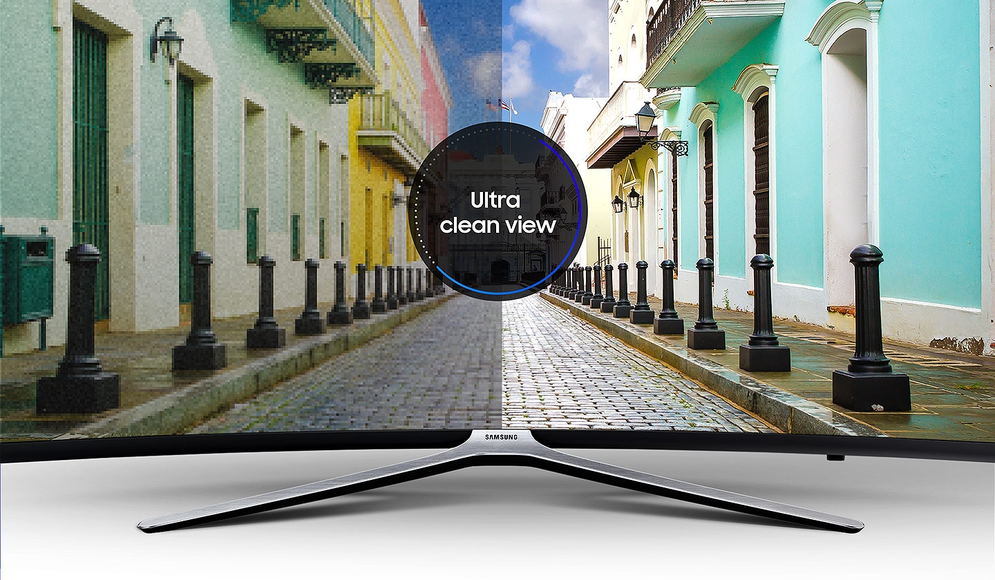 M6300 Curved Smart Full HD TV: Ultra clean view