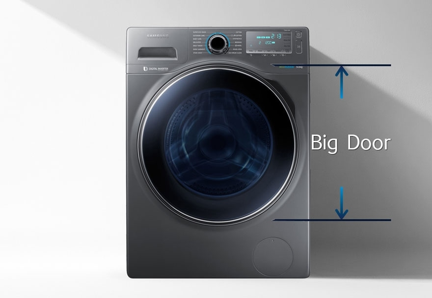Samsung ww90h7410ex front load washer with eco bubble 9kg - Samsung eco bubble ...