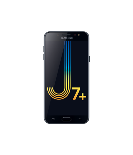 Samsung Galaxy J7 Plus (2017): Front Black