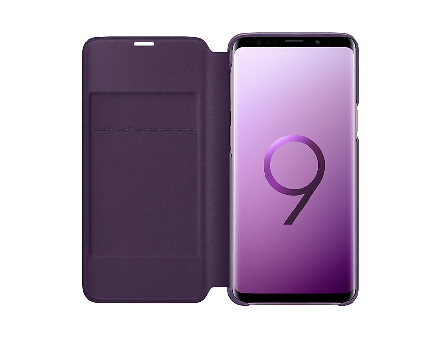 best sneakers cee55 45c85 Samsung Galaxy S9 LED View Cover (Violet) | Best Price in Malaysia