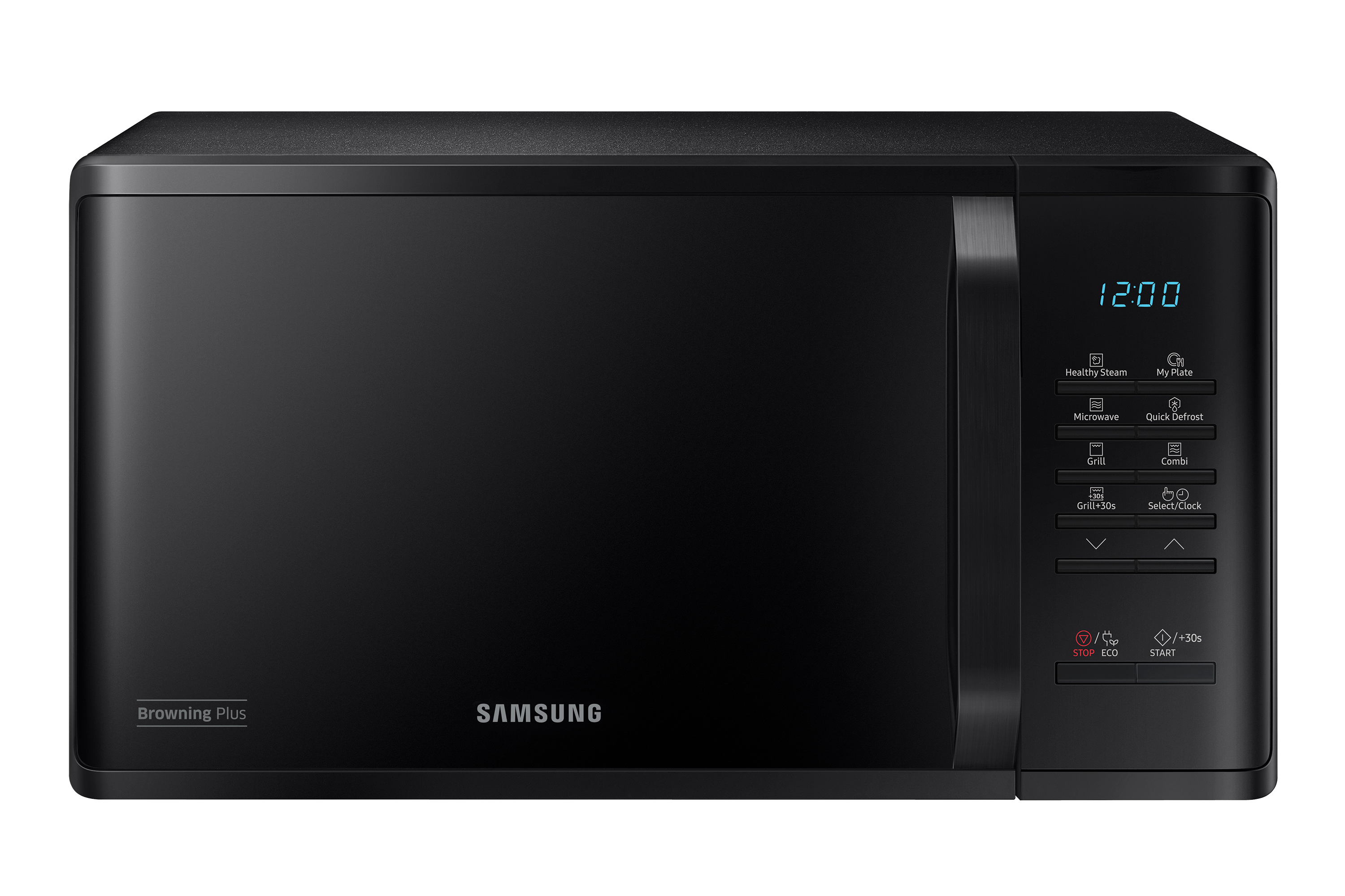 Grill Microwave Oven with Healthy Steam, 23L (MG23K3513GK)