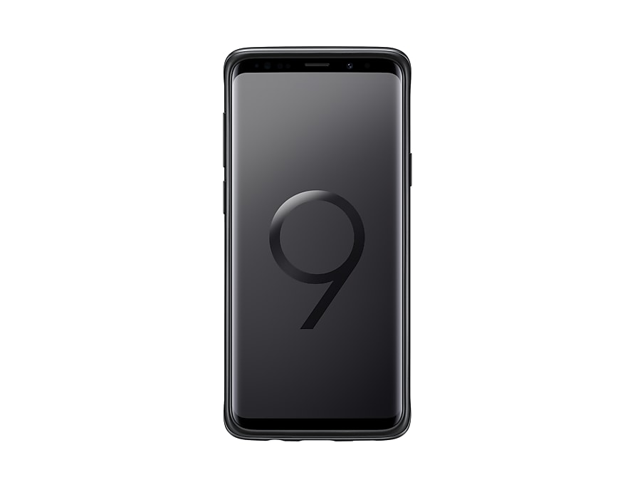 meet d69d8 d13df Samsung Galaxy S9+ Protective Standing Cover (Black) | Malaysia