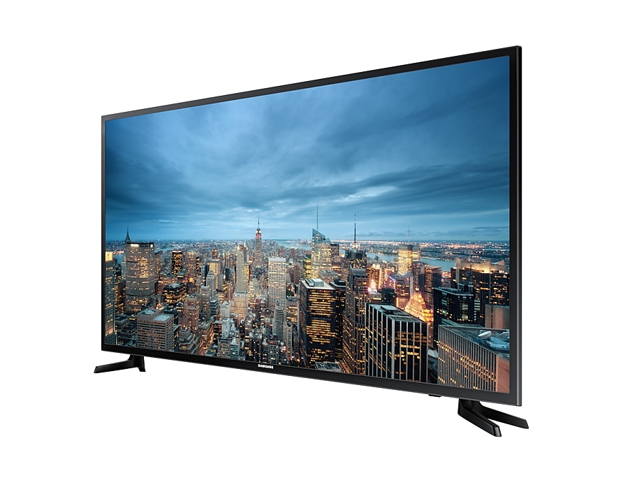 "55"" JU6000 Smart 4K UHD TV: R Perpective Black"