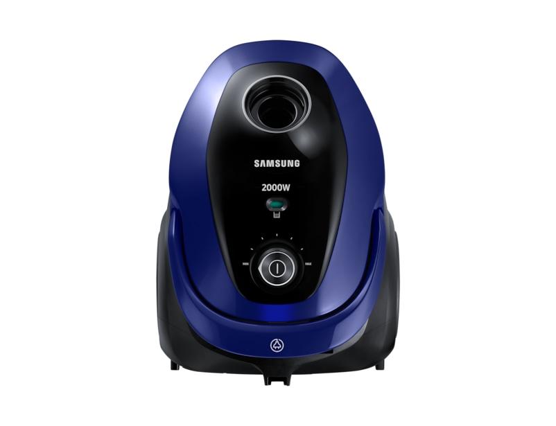samsung vacuum cleaner. front blue samsung vacuum cleaner