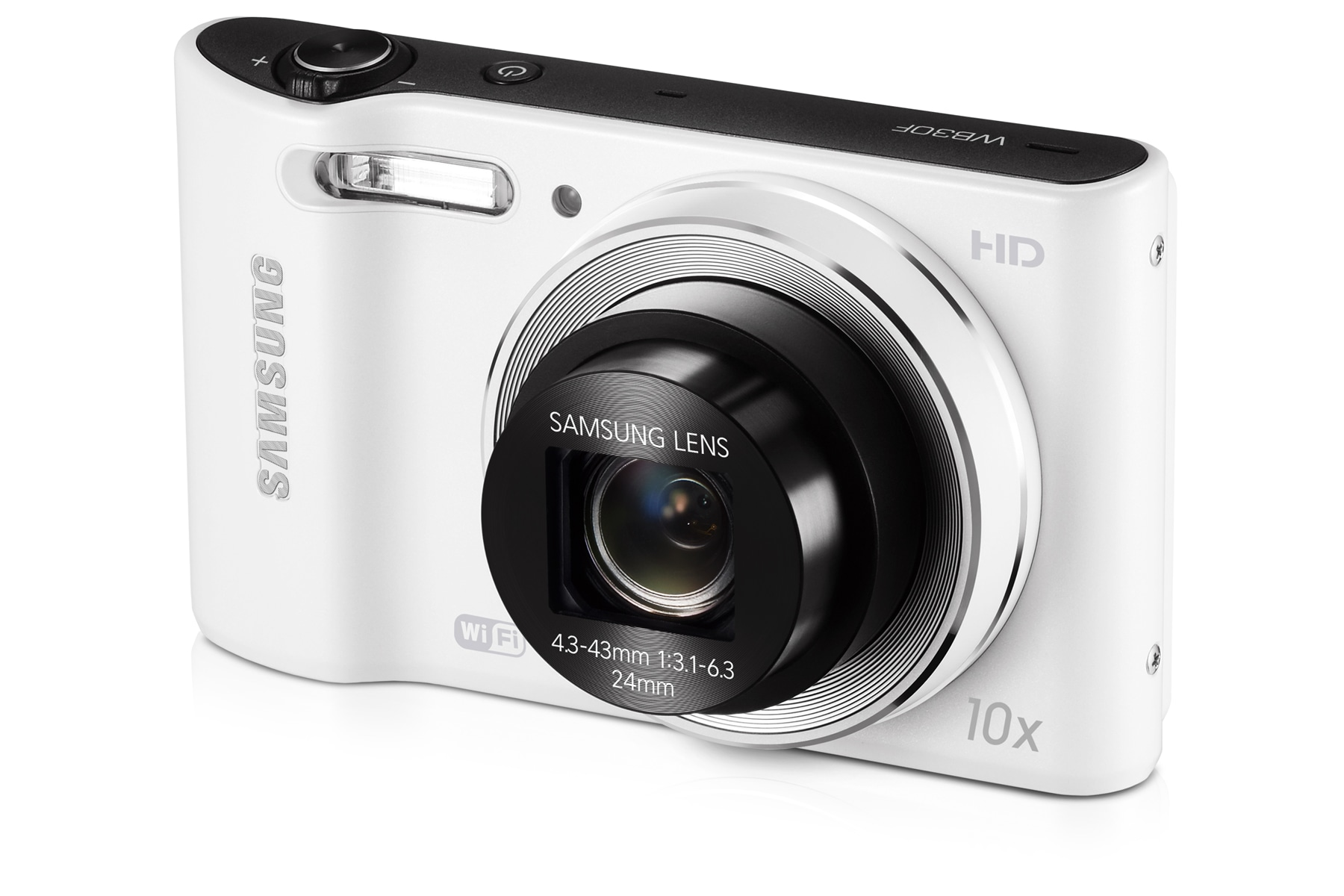 SAMSUNG WB30F Right Angle-5 white