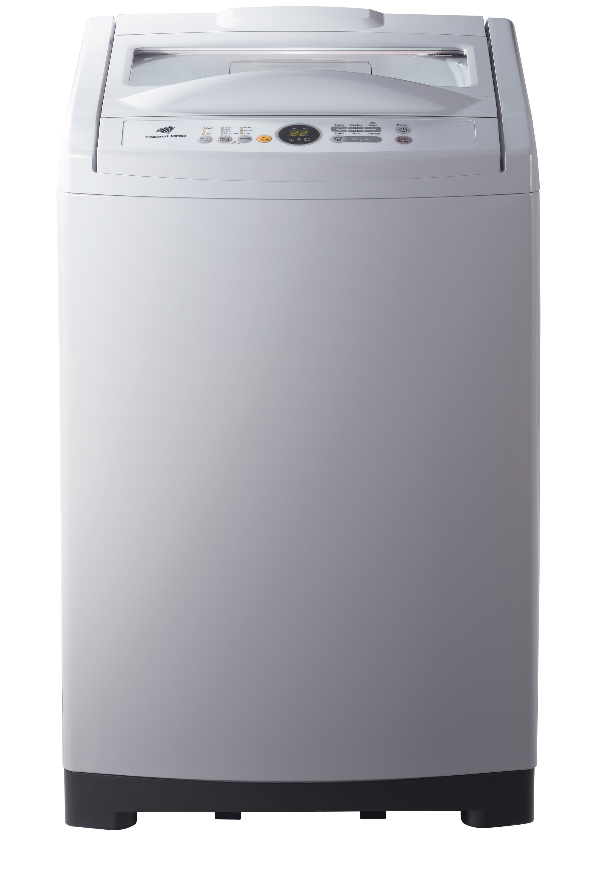 Poseidon2 Top Loader with Air Turbo Dry, 11 kg, Gray