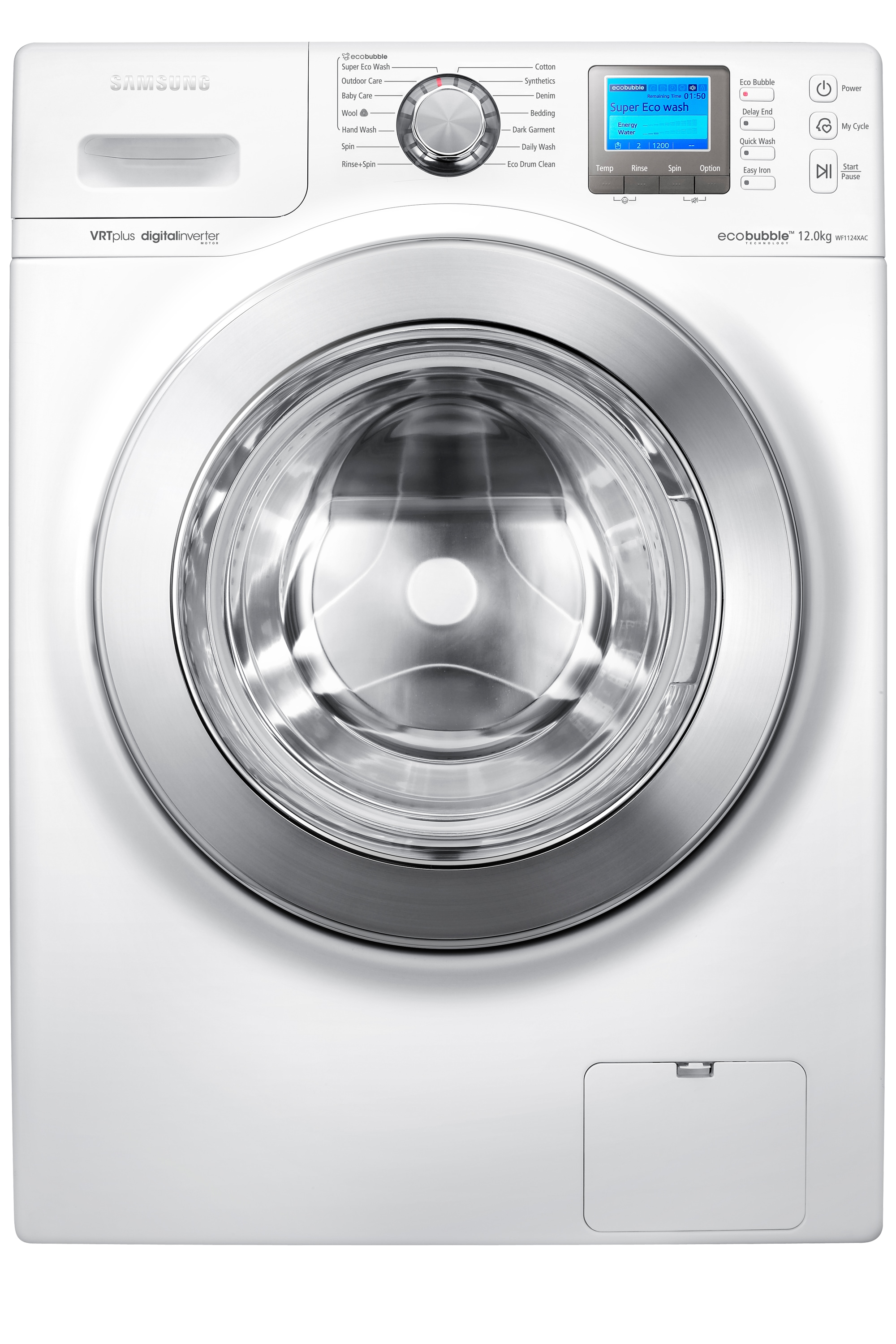 Arno Washer with Smart Control, 12 kg, White