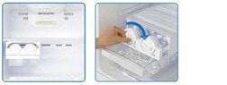 movable twist ice-maker
