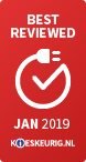 Best reviewed - Kieskeurig - Januari 2019