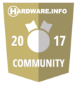 Hardware.Info Community Award 2017