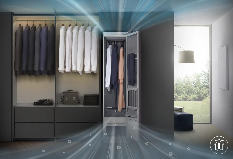 Betere verzorging van kleding met minder vocht