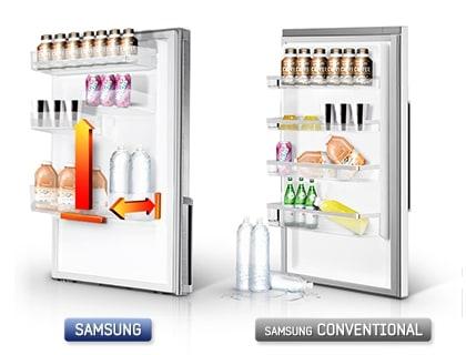 Smart Space: Verstelbare flessenhouders