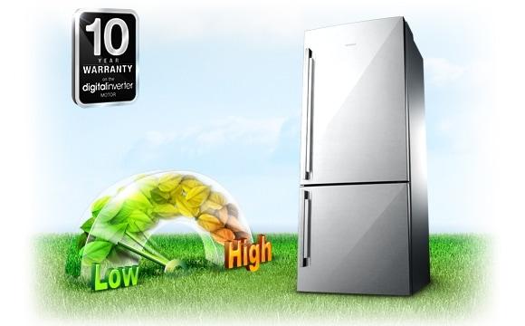 Energiebesparing, stille  werking en 10 jaar garantie