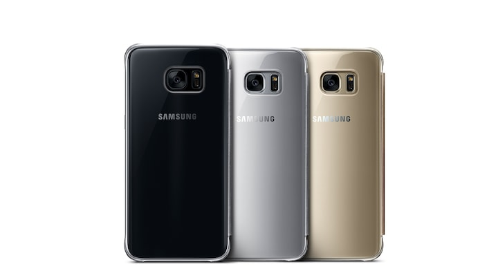 S7 clear view cover