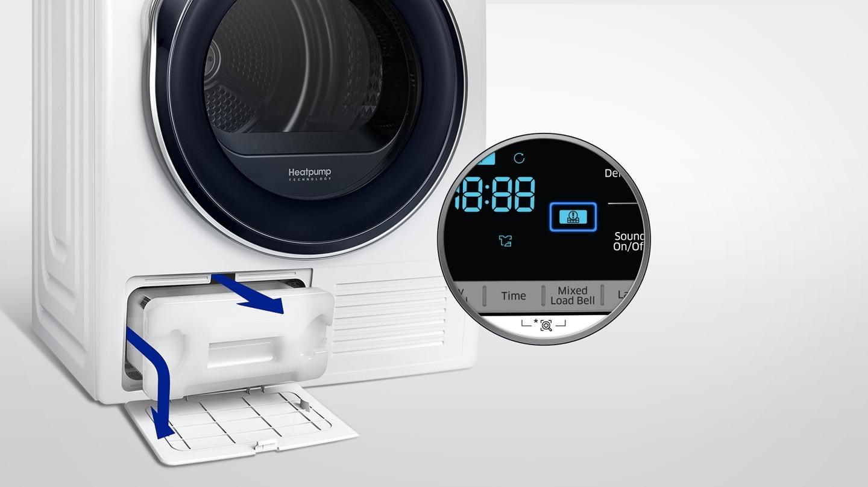 filter alarm droger Samsung warmtepomp droger