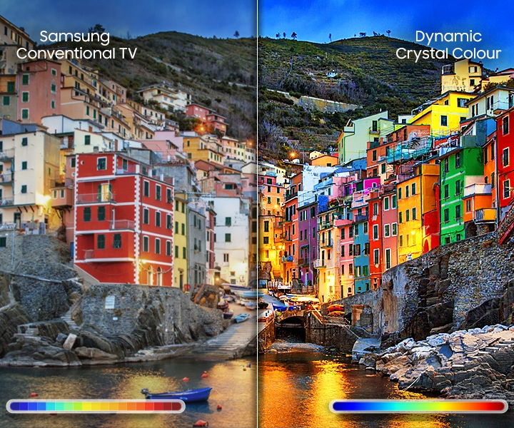 UHD TV Dynamic Crystal Color
