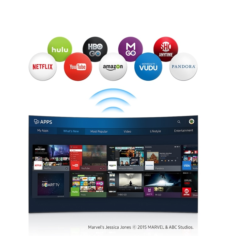 5-Series FHD TV UE32K5600 Wi-Fi