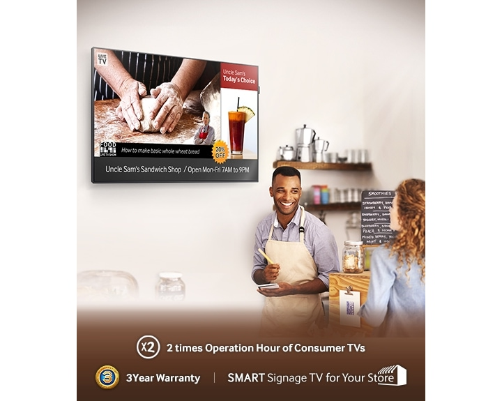 Betrouwbare Samsung Signage TV oplossing