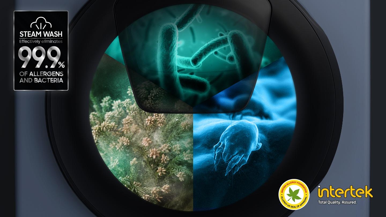 Verwijder bacteriën en allergenen tot 99,9%*