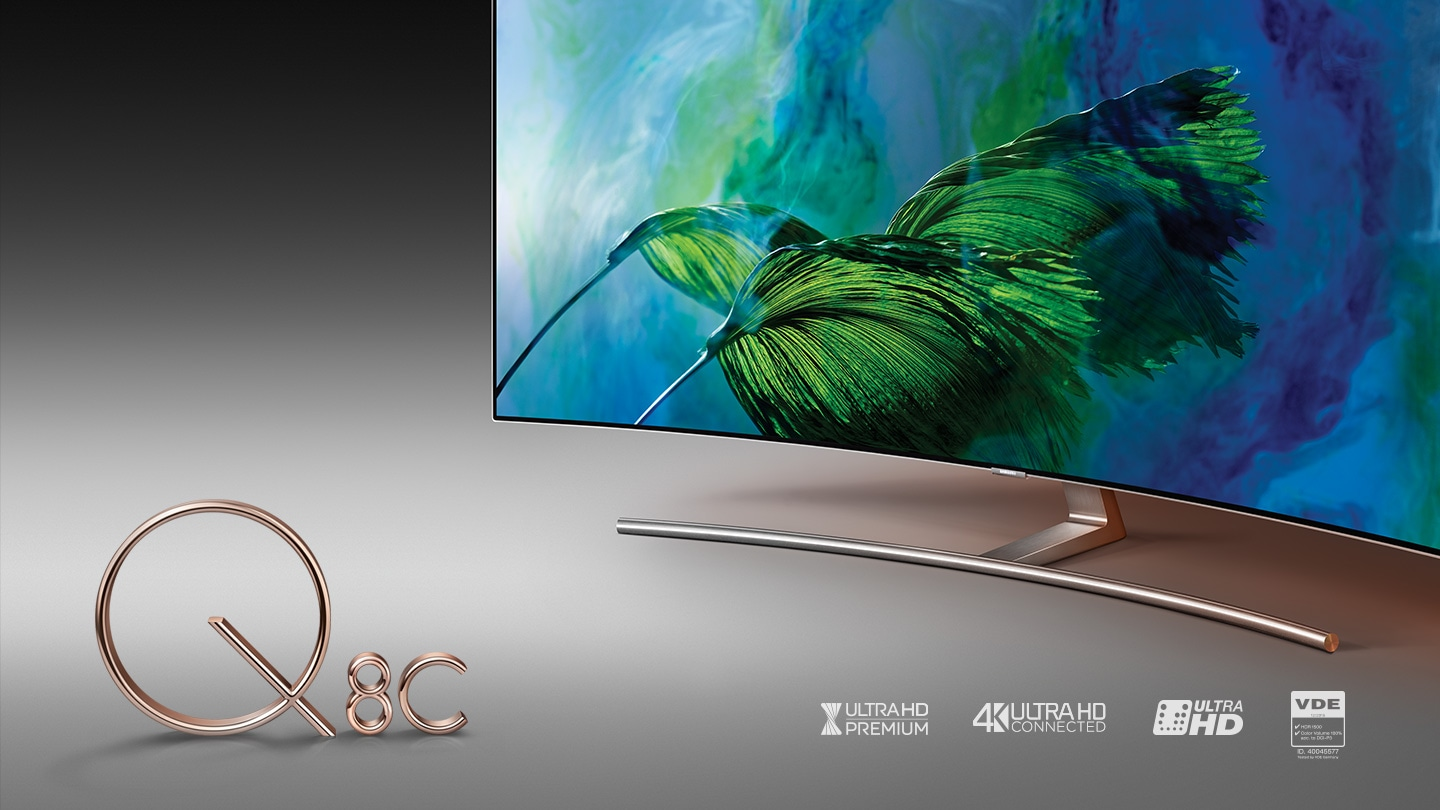 Q8C QLED TV TV-innovatie.