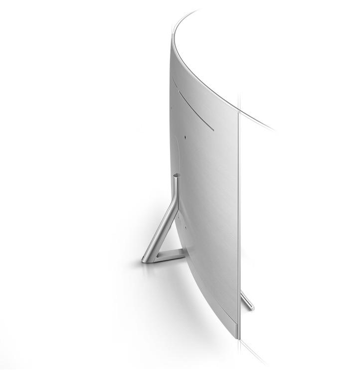 Q8C QLED TV Curved scherm