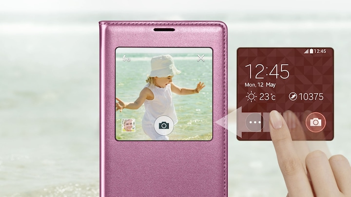 S View Cover GALAXY S5 - Supersnel toegang