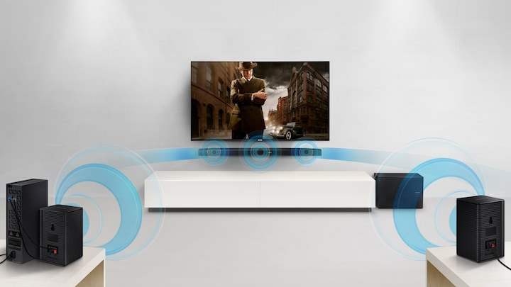 HW-K450 4-Series Soundbar surround
