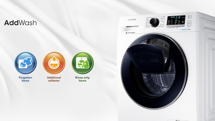 AddWash samsung wasmachine open