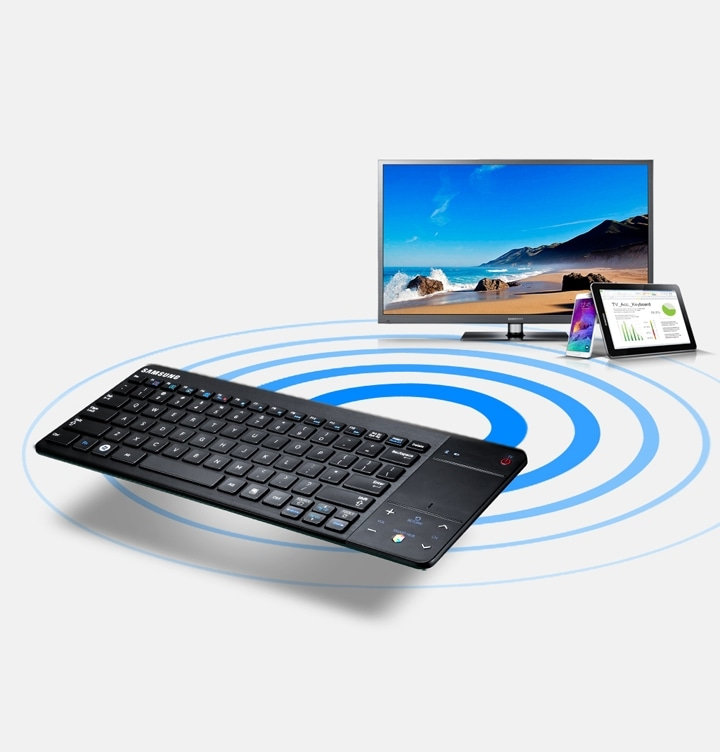 VG-KBD1000 Smart TV Wireless Bluetooth Keyboard compatibel apparaten