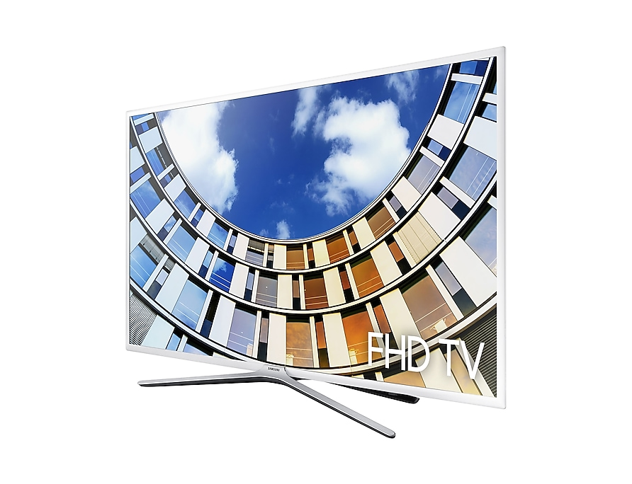 FHD TV UE43M5510 r-perspective white