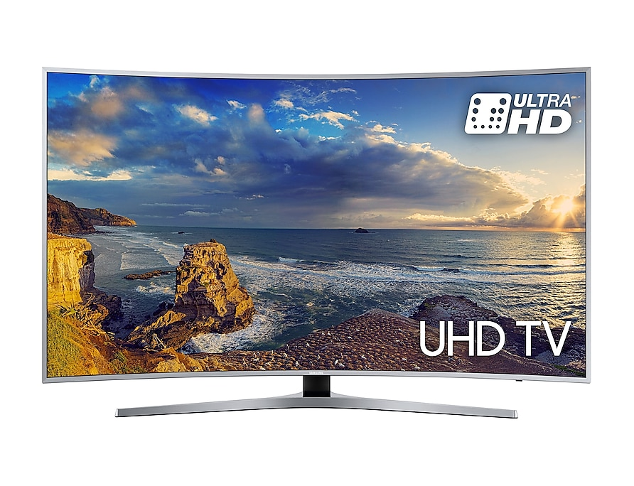 Curved UHD TV UE55MU6500 front