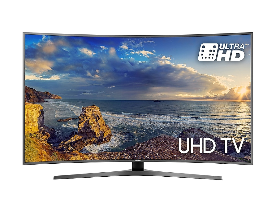 Curved UHD TV UE55MU6650 front