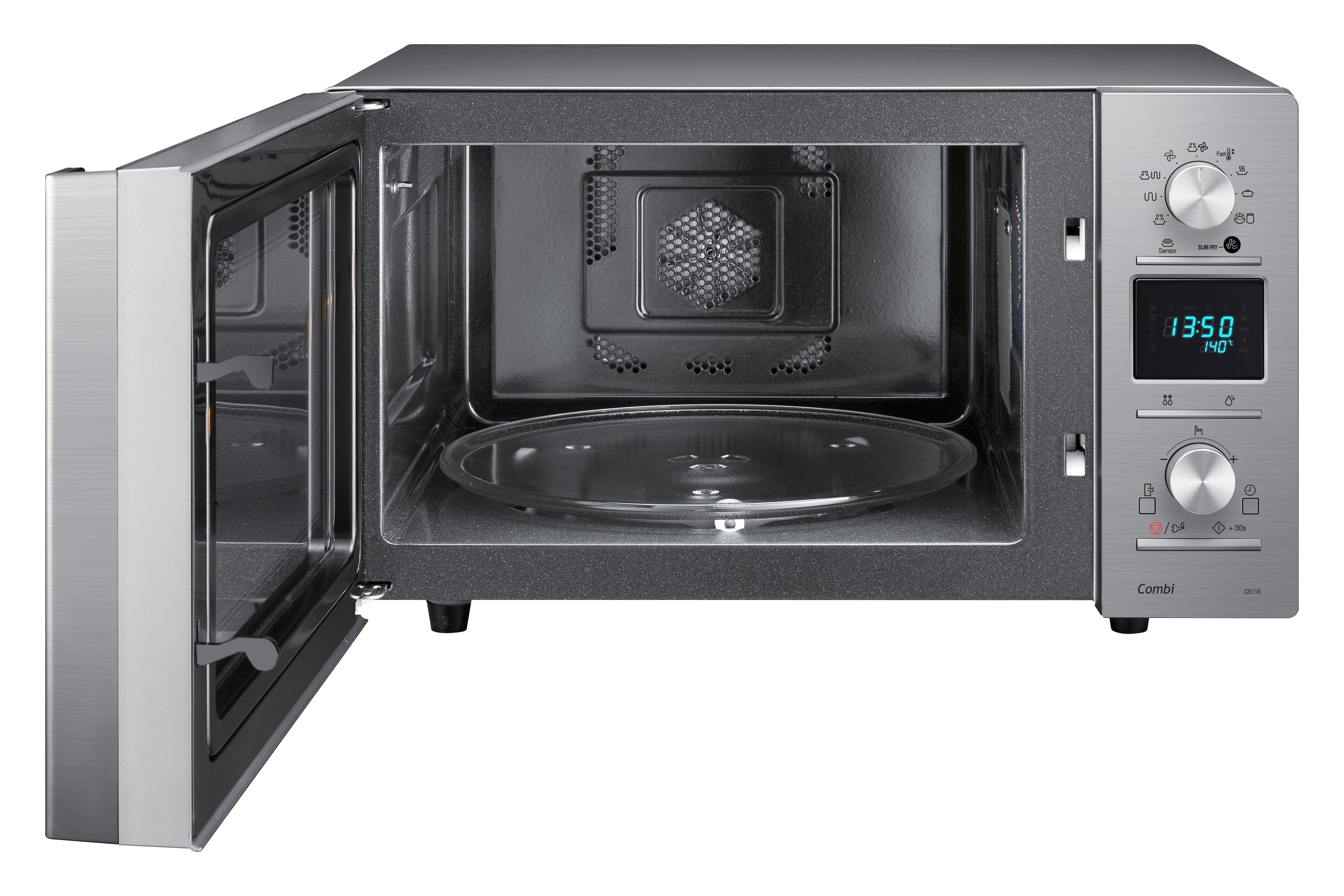 CE118PE-X1 Voorzijde open Zilver