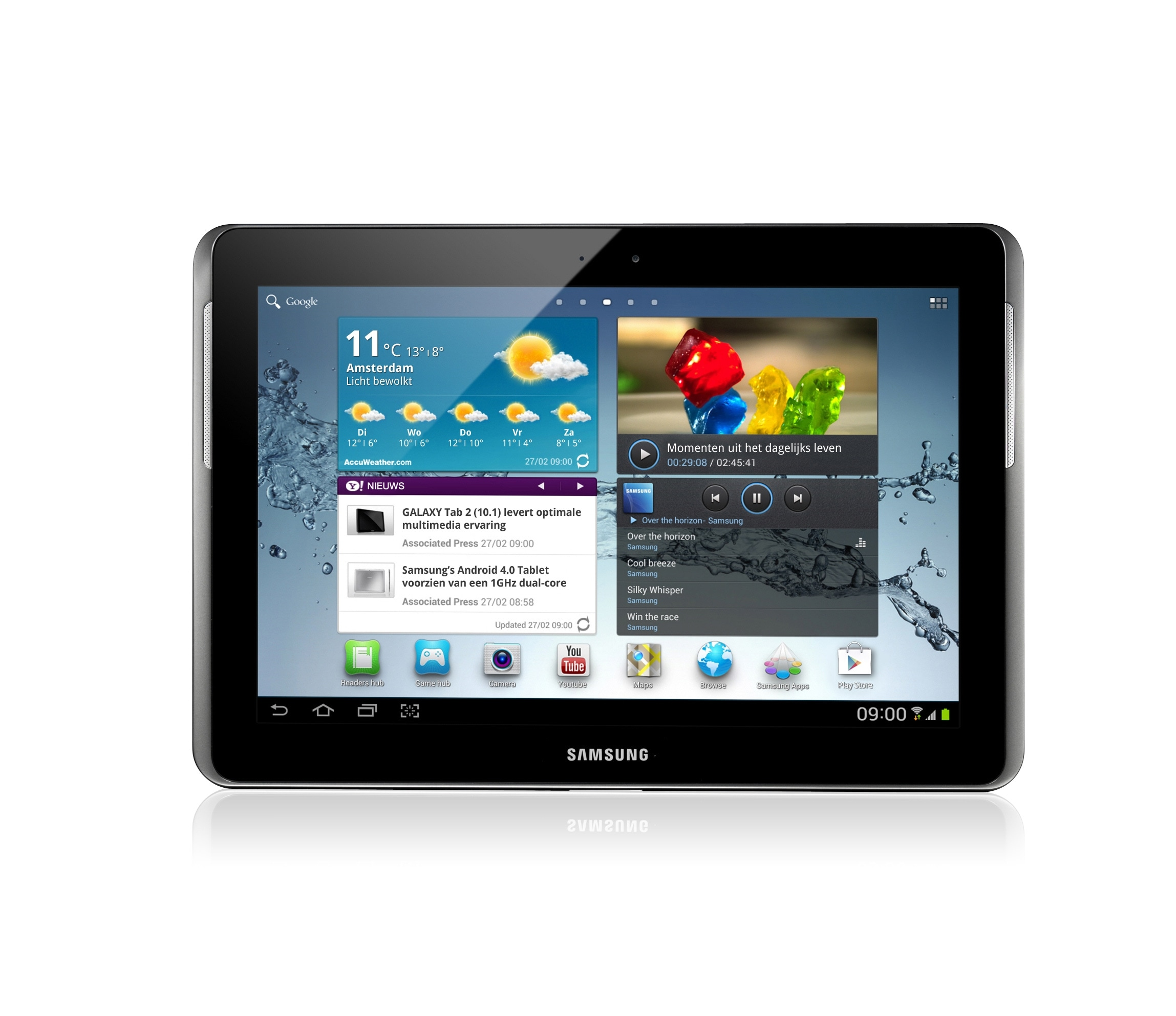 Galaxy Tab 2 10.1 3G + Wi-Fi P5100 Android