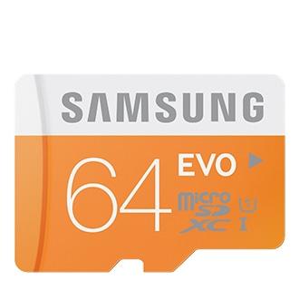 Micro SD EVO 64GB kaart