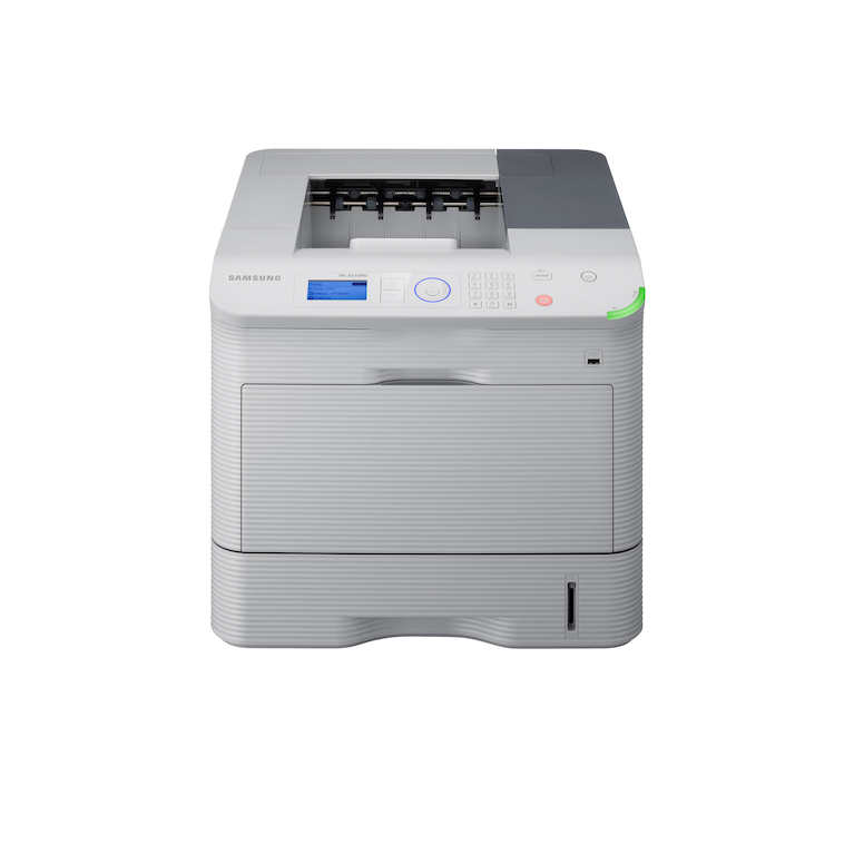6510ND Zwart/Wit laser printer 6510ND Voorzijde