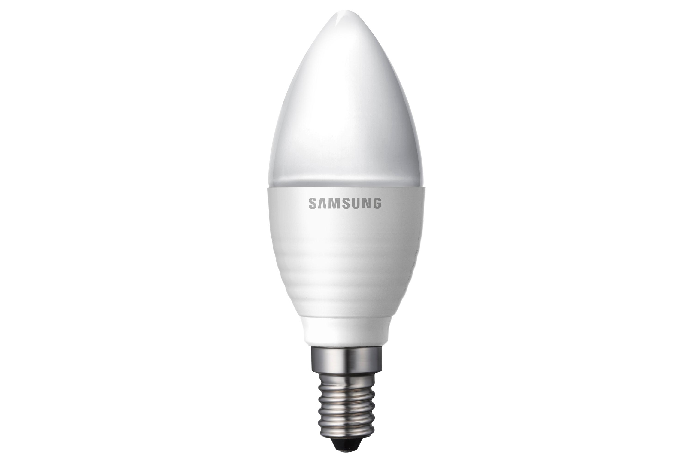 Dimbare LED lamp  candle E14 5,2W