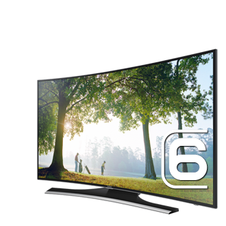 "UE48H6850AW UE48H6850A 48"" 6-Series Curved TV"