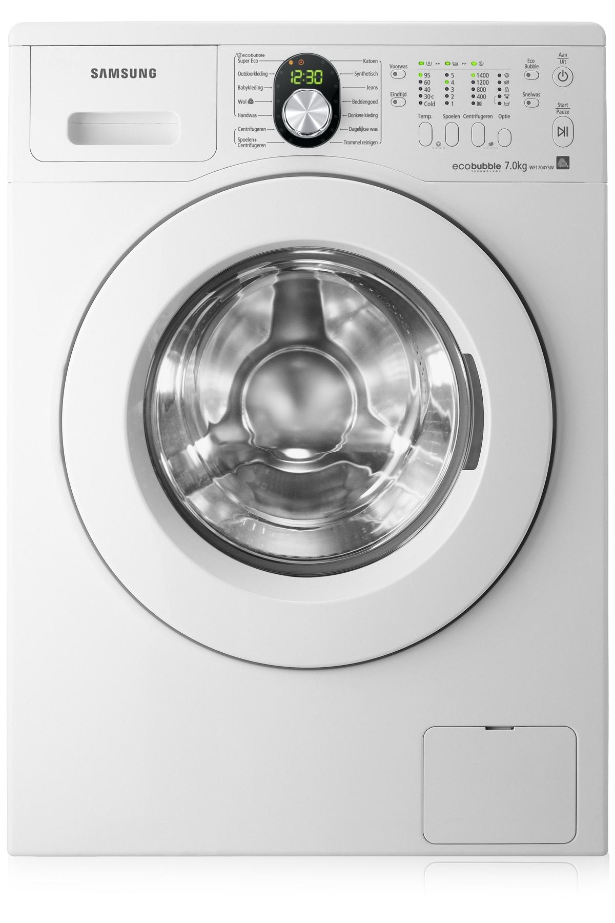 7kg 1400RPM EcoBubble  Wasmachine WF1704YSW/XEN