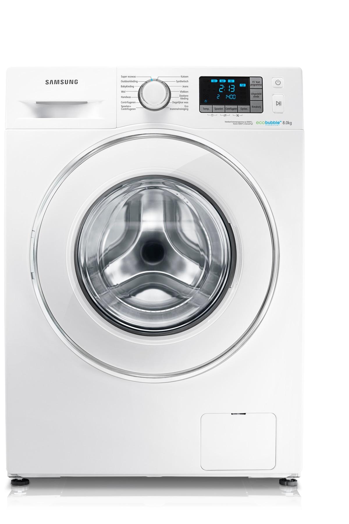 A+++ EcoBubble 1400 toeren 8 KG Wasmachine