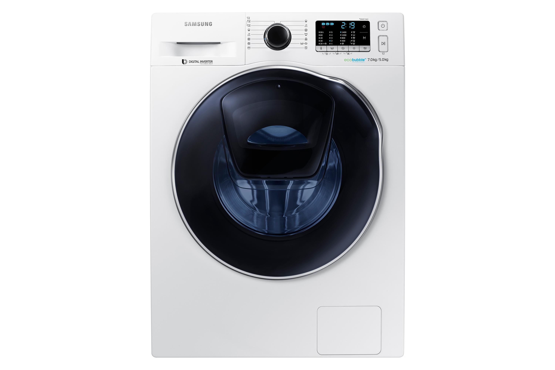 WD5500 AddWash Kombinert vask og tørk, 7 kg